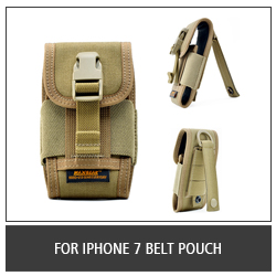For iPhone 7 Belt Pouch