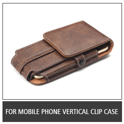 For Mobile Phone Vertical Clip Case