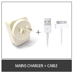 Mains Charger + Cable
