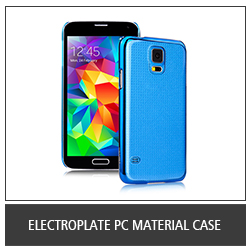 Electroplate PC Material Case