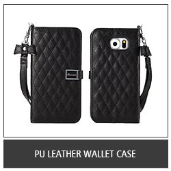 PU Leather Wallet Case