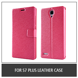 For S7 Plus Leather Case
