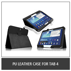 PU Leather Case For Tab 4