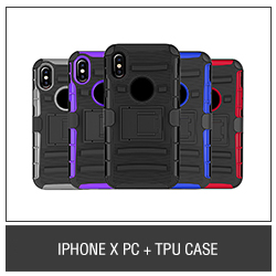 iPhone X PC+TPU Case