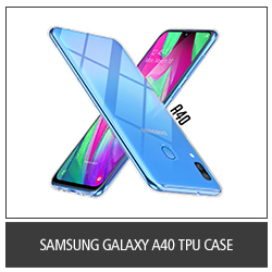 Samsung Galaxy A40 TPU Case