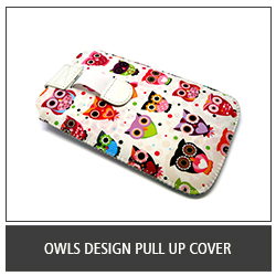 Owls Design Pull Up Cover